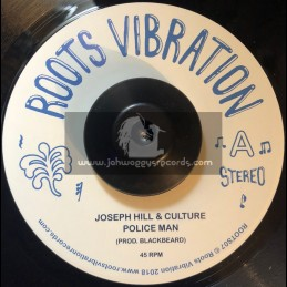 """Roots Vibration-7""""-Police Man / Joseph Hill & Culture + Police Man Dub / Sly & Robbie With Ring Craft Posse"""