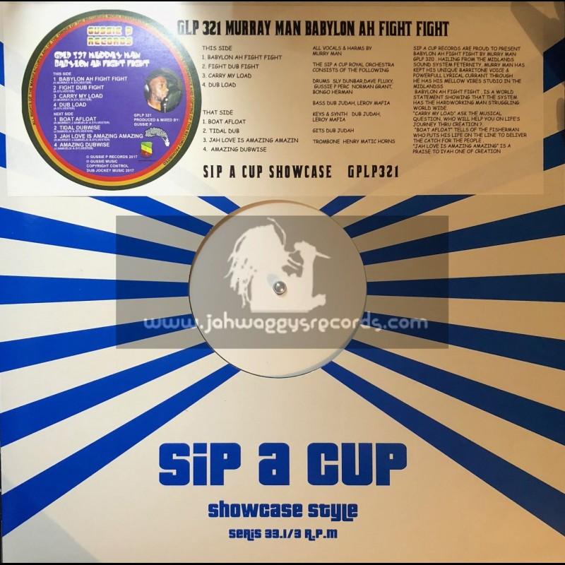 Gussie P Records-Lp-Babylon Ah Fight Fight / Murray Man