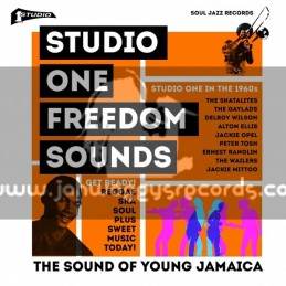 Soul Jazz Records-CD-Studio One Freedom Sounds (Studio One In The 1960s)