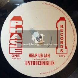 """Phase 1-12""""-Help Us Jah / Untouchables + Sea Of Love / Untouchables"""