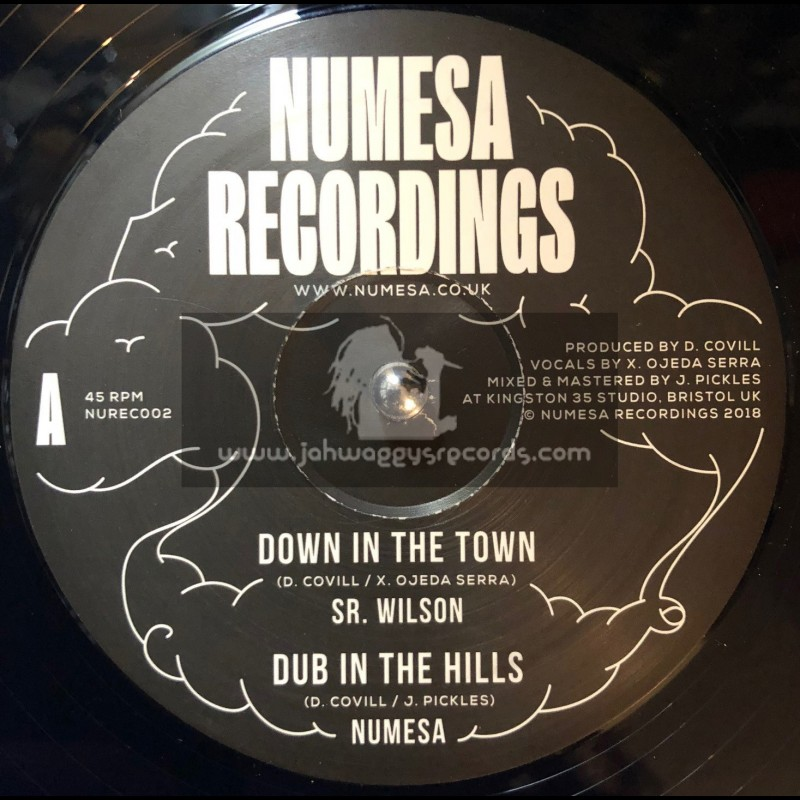 """Numesa Recordings-12""""-Down In The Town / Sr. Wilson + Rockers Swing / Numesa"""