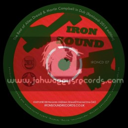 Iron Sound Records-CD-The Best of Alien Dread & Martin Campbell in Dub - Remixed 2018 Edition