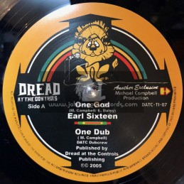 "Dread At The Controls-10""-One God / Earl Sixteen + African Tribesman / Earl Sixteen"