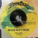 """Pioneer-7""""-Black Man's Pride / Alton Ellis + Heart Desire / Pioneers"""
