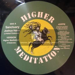 "Higher Meditation-12""-Sanctuary / Joshua Hales + Chant Down Babylon / Higher Meditation"