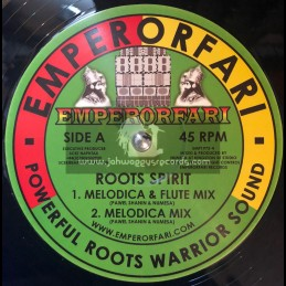 "Emperorfari-12""-Roots Spirit / Pawel ,Shanin & Numesa"