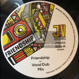 "Jah Version Records-12""-Friendship / Zacky Man & Jah Version"