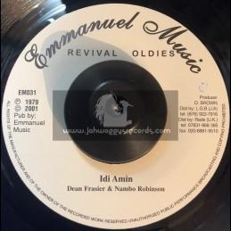 "Emmanuel Music-7""-Idi Amin / Dean Fraser & Nambo Robinson"