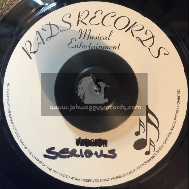 """RADS RECORDS-7""""-CALL ON THE FATHER / BERES HAMMOND"""