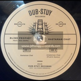 "Dub Stuy Records-12""-Rastaman Chant / Blind Prophet Feat. Ras Demo"