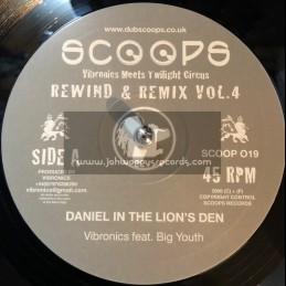 "Scoops-10""-Daniel In The Lions Den / Big Youth + Jah Light Jah Love / Boney L - Rewind & Remix Vol.4"