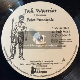 """Vibes Central Music-12""""-Jah Warrior / Peter Hunnigale"""