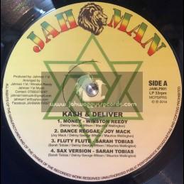 Jah Man-Lp-Kash And Deliver - Mutual Exchange / Various Artist