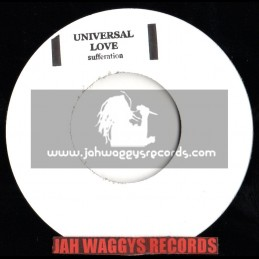 "UNIVERSAL LOVE-7""-SUFFERATION(STAMPED/WHITE LABEL)"