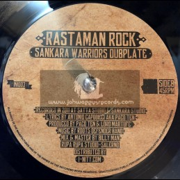 "I-Nity Records-7""-Rastaman Rock / Sankara Warriors Dubplate"