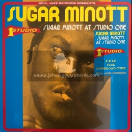 Soul Jazz Records-Double-Lp-Sugar Minott At Studio One / Sugar Minott
