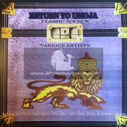 D.E.B. Music-Lp-Return To Umoja-Part 2 / Various 