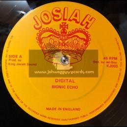 "Josiah-12""-Digital / Bionic Echo + Chatty Chatty Mouth / Bionic Echo"