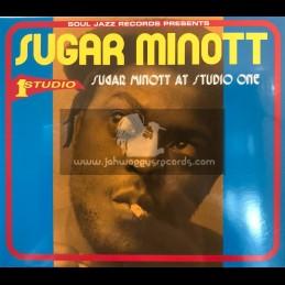 Soul Jazz Records-CD-Sugar Minott At Studio One / Sugar Minott