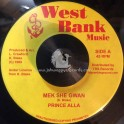 "West Bank Music-7""-Mek She Gwan / Prince Alla"