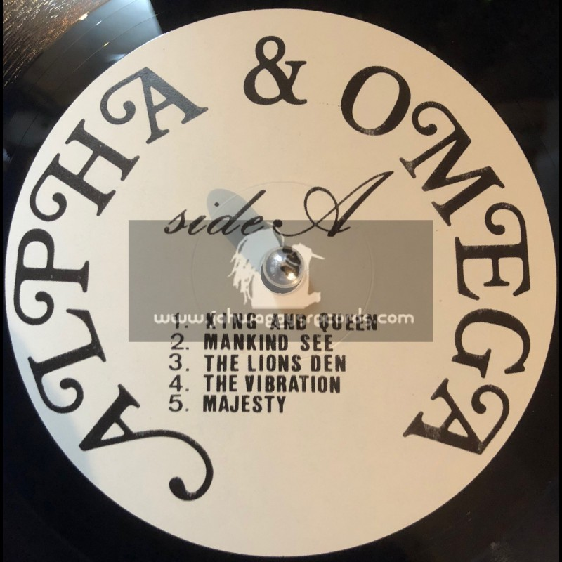 Alpha And Omega-Lp-King And Queen / Alpha And Omega