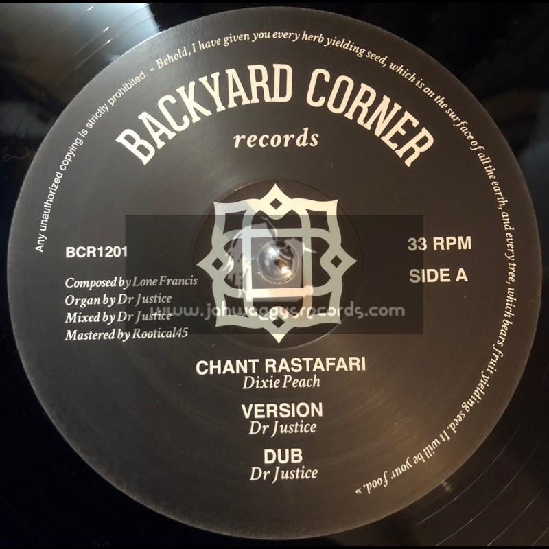 "Backyard Corner Records-12""-Chant Rastafari / Dixie Peach + Original Rastaman / Patrixx Matics"