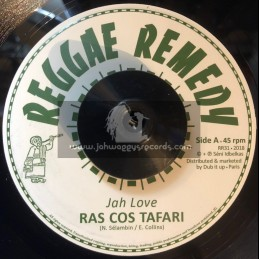 "Reggae Remedy-7""-Jah Love / Ras Cos Tafari"