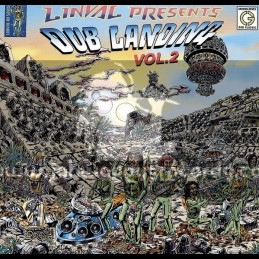 Greensleeves Records-Double-CD-Linval Presents - Dub Landing Vol 2