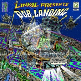 Greensleeves Records-Double-CD-Linval Presents - Dub Landing Vol.1