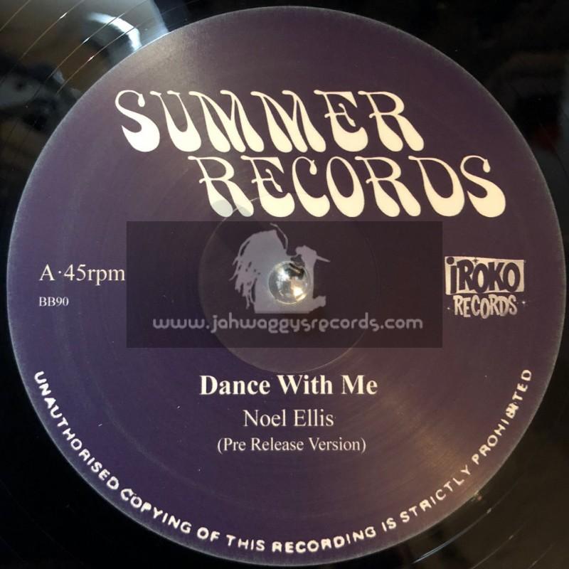 """Summer Records-Iroko Records-12""""-Dance With Me / Noel Ellis + Memories / Noel Ellis"""