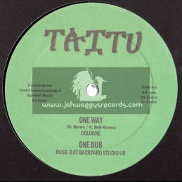 """TAITU RECORDS-10""""-LUMP SUM / LINVAL THOMSON + ONE WAY / COLOGNE (RIDDIMS FROM RUSS-D)"""