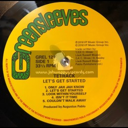 Greensleeves Records-LP-Lets Get Started / Tetrack