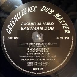 Greensleeves Dub Master-Lp-Easrman Dub / Augustus Pablo