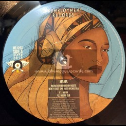 """Unemployment Records-12""""-Mama / Wicked Dub Division Meets North East Ska Orchestra"""
