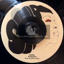 "Shella Records-7""-Rebel / Rothadam + I Was Born To Be A Rebel / Rothadam"
