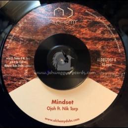 """Alchemy Dubs-7""""-Mindset / Ojah Feat. Nik Torp + Mindset Dub / Ojah"""