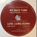 "Jah Waggys Dubplate Selection vol 12-10""-No Back Turn / Creation Stepper + Love Come Down / Mikey Mystic - Limited White Vinyl"