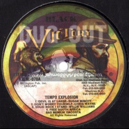 BLACK VICTORY RECORDS-TEMPO EXPLOSION LP
