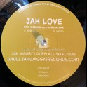 "Jah Waggys Dubplate Selection Vol 13-10""-Love Jah / Ras McBean Meets King Alpha - Black Vinyl"