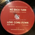 "Jah Waggys Dubplate Selection vol 12-10""-No Back Turn / Creation Stepper + Love Come Down / Mikey Mystic"