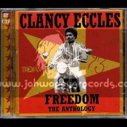 Trojan Records-Double-CD-Freedom (Anthology 1967-73) / Clancy Eccles