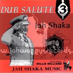 Jah Shaka Music-CD-Dub Salute 3 / Jah Shaka