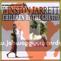 Jah Shaka Music-CD-Children Of The Ghetto / Winston Jarrett
