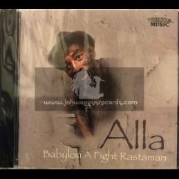Twinkle Music-CD-Babylon A Fight Rastaman / Alla