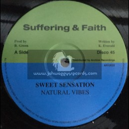 "Suffering & Faith-12""-Sweet Sensation / Natural Vibes"