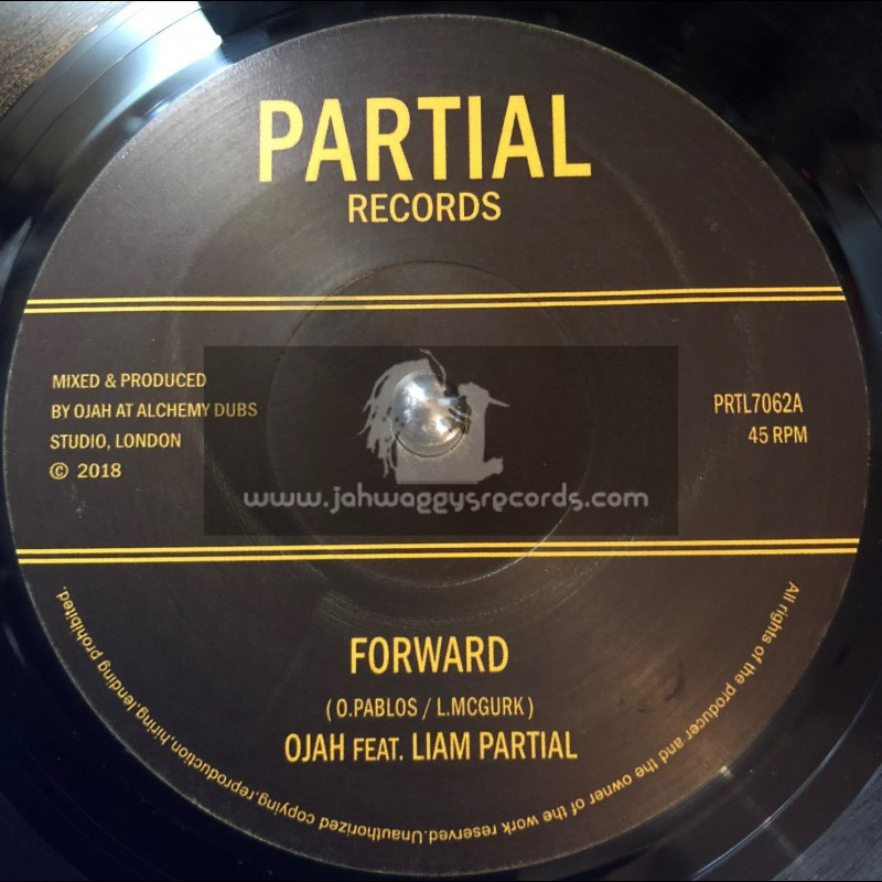 "Partial Records-7""-Forward / Ojah Feat. Liam Partial"