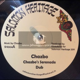 """Salomon Heritage-12""""-Chazbo s Serenade (Earth Inna Termoil Dub Pieces)"""