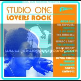 Soul Jazz Records-CD-Studio One - Lovers Rock