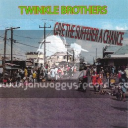 Twinkle Music-CD-Give The Sufferer A Chance / Twinkle Brothers