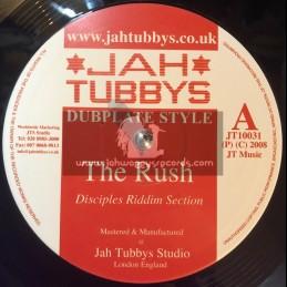 "Jah Tubbys-10""-The Rush / Disciples + Heartical Stepper / Disciples"